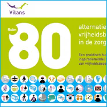 Ruim 80 alternatieven voor vrijheidsbeperking in de zorg