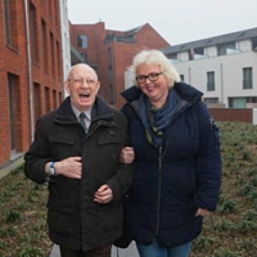 Mensen met dementie leven veilig en vrij door 'leefcirkels'