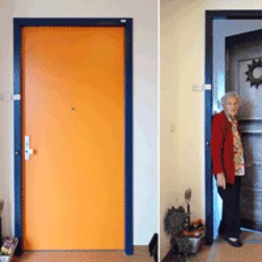 Positieve ervaringen met gepersonaliseerde voordeuren in zorginstellingen