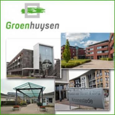 Waarborgzegel Fixatievrije Zorginstelling voor vier locaties van Stichting Groenhuysen