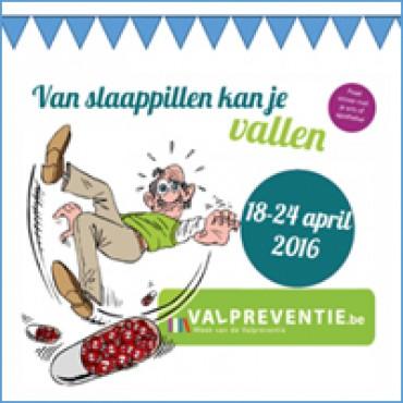 Vlaamse actieweek tegen slaapmedicatie en voor bewegen