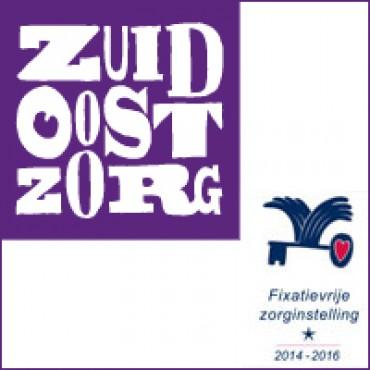 Zes vestigingen van Zuidoostzorg in Friesland ontvangen het Waarborgzegel Fixatievrije Zorg