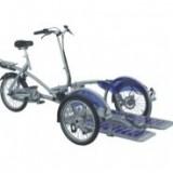 Samen erop uit met de rolstoelfiets
