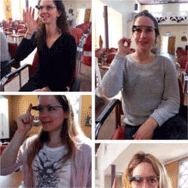 'Even de gedragsdeskundige raadplegen via Google Glass'