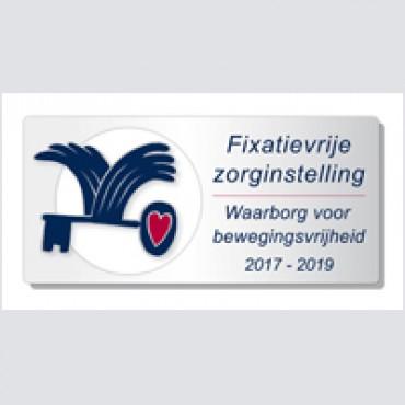 Introductiebijeenkomst Waarborgzegel Fixatievrije Zorginstelling