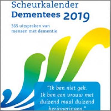 Scheurkalender 'Dementees 2019'