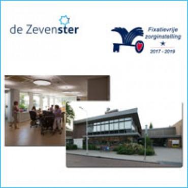 Waarborgzegel met 1 ster voor woonzorgcentrum De Zevenster in Zevenhuizen