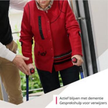 Actief blijven met dementie; gesprekshulp en training voor begeleiders