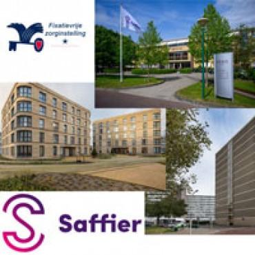 Drie verpleeghuizen van Saffier fixatievrij!