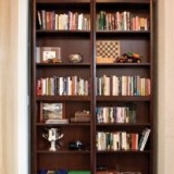 Liever boekenkast dan gesloten deur zien