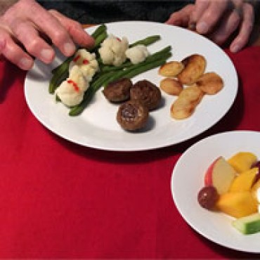 Fingerfood: geen hulp meer nodig bij het eten