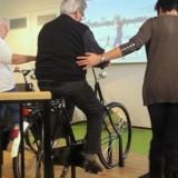 'Buiten komt voorbij' - fietsinstallatie voor dementerenden
