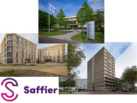 Drie locaties Saffier in Den Haag