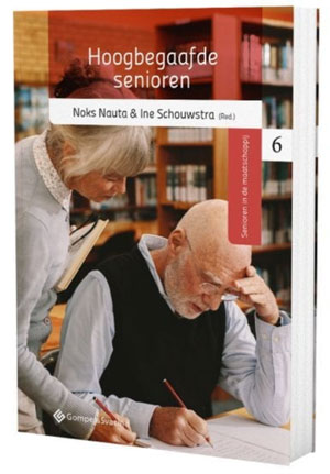 Boek Hoogbegaafde Senioren, Noks Nauta & Ine Schouwstra