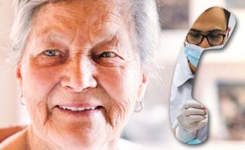 Telefonisch tandartsspreekuur ouderen