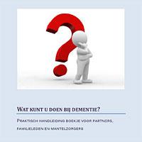 boekje voor mantelzorgers bij dementie