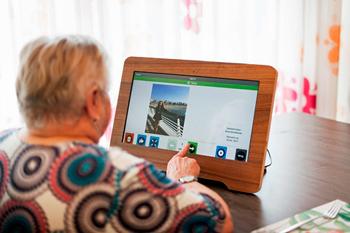 Compaan tablet voor bewoners