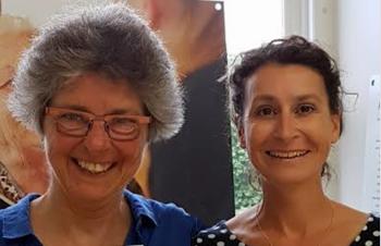 Paula Iriks en Irene Kruijssen van Cordaan