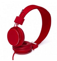 Rode koptelefoon