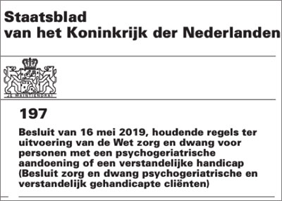 Staatsblad 197, juni 2019