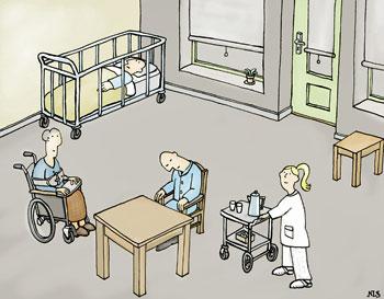 Verpleeghuis zoals het niet hoort