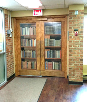 Boekenkastdeur