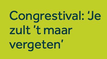 Congrestival Dementie, 11 juni Rotterdam