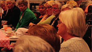 Een dementietafelbijeenkomst