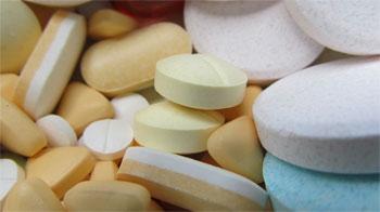 Gekleurde tabletten