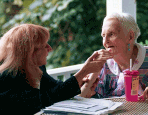 Helpende hand bij dementie