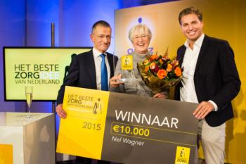 Winnaars van Het beste zorgidee 2015