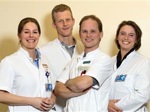 Het heupfractuurteam van het Martini Ziekenhuis