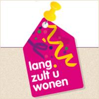 Logo  van de Lang zult u wonen campagne