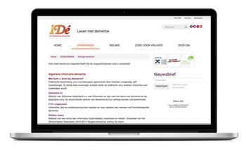 Laptop met Nuttige Bronnen website IDé