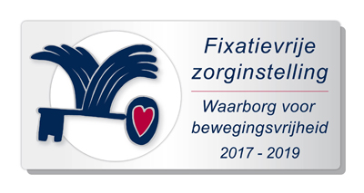 Waarborgzegel Fixatievrije Zorginstelling 2017-2019