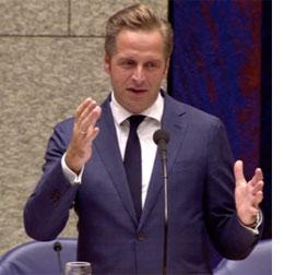 Minister Hugo de Jonge van VWS