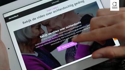 Online Training Alzheimer Nederland en Trimbos