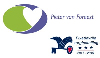 Pieter van Foreest, Waarborgzegel Fixatievrije Zorg 3 sterren