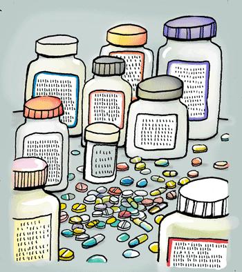 Medicijnpotjes