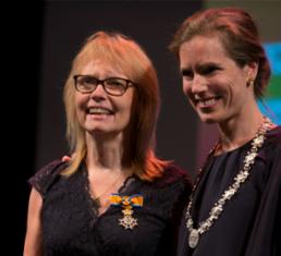 Onderscheiding Rose-Marie Dröes