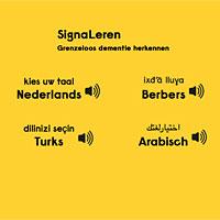 vier talen om uit te kiezen