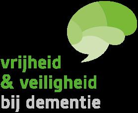 Logo Vrijheid en Veiligheid bij dementie