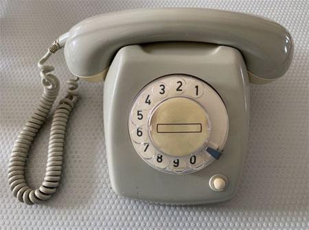 Wonderfoon, muziek uit een ouderwetse telefoon