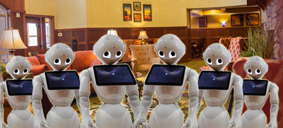 Zorgrobots staan klaar voor service